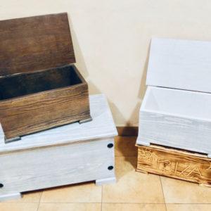 Arcones y baúles de madera