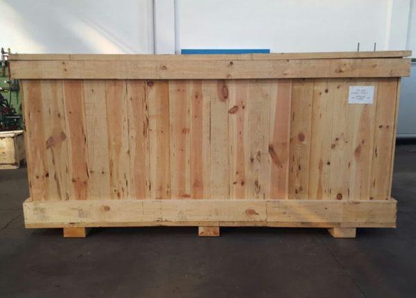 Envase o embalaje de madera