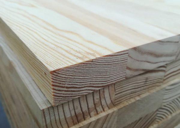Tableros alistonados de pino